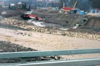 Олимпийская стройка уничтожает экосистему реки Мзымта