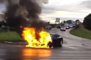 Возгорание Tesla Model S понизило стоимость компании на 2.4 млрд. долларов США
