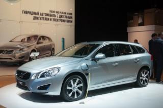 Volvo представит первый гибридный автомобиль для России в 2014 году