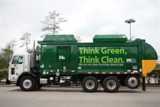 Произведенным из мусра газом в США планируют заправлять мусоровозы