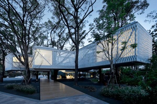 Бизнес-центр в Шанхае: с уважением к природе