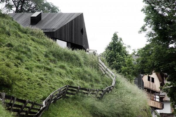 Экологичная вилла в Альпах