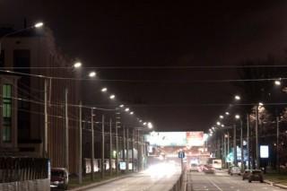 Светлановский проспект Санкт-Пертербурга перевели на светодиодное освещение