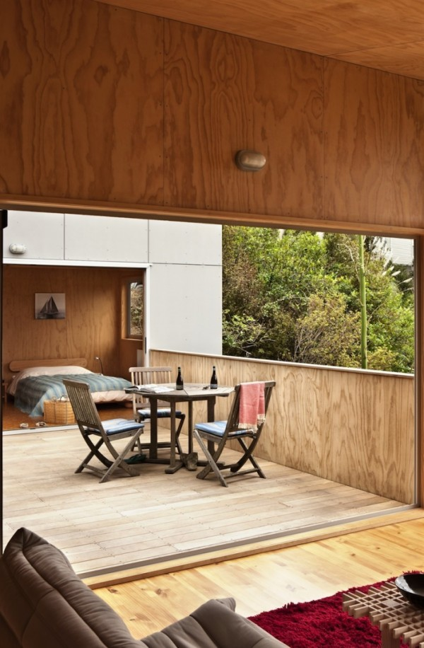 Летний дом на новозеландском острове