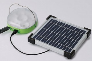 Panasonic представил LED светильник на солнечной батарее для регионов без электроснабжения