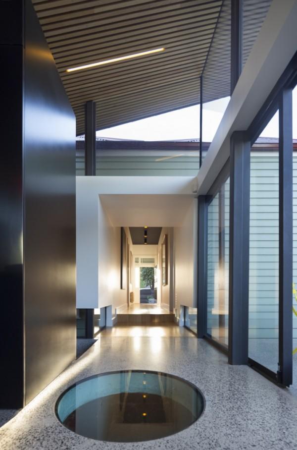The Mullet House: естественное освещение через скайлайты