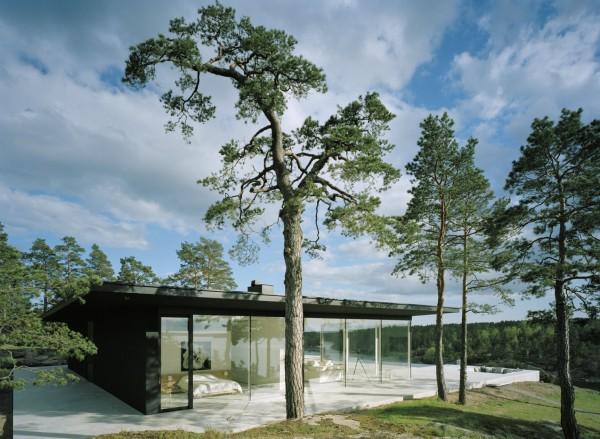 Вилла Överby в окрестностях Стокгольма