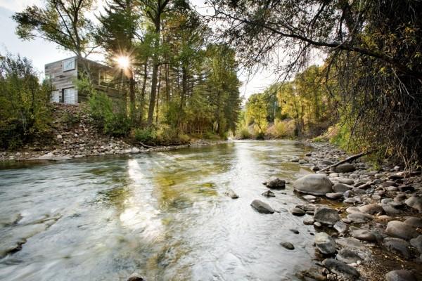 Вилла у реки в окрестностях Аспена