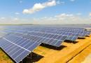 Нурсултан Назарбаев принял участие в открытии солнечной электростанции в Капшагае