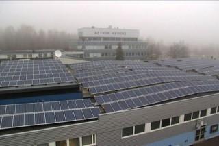 В Финляндии владелец торгового центра построил самую крупную в стране солнечную электростанцию