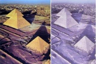 Снег на египетских пирамидах оказался фальшивкой