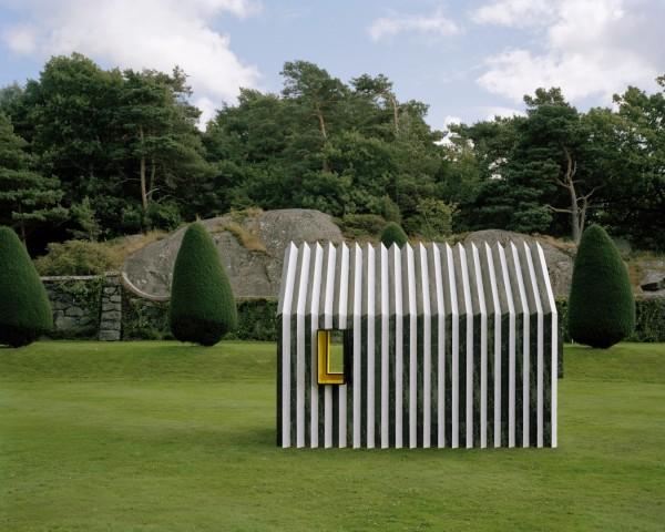 Дом-хамелеон из бумаги