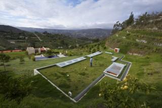 Дом под зеленым лугом