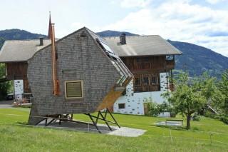 Футуристичный домик в Альпах