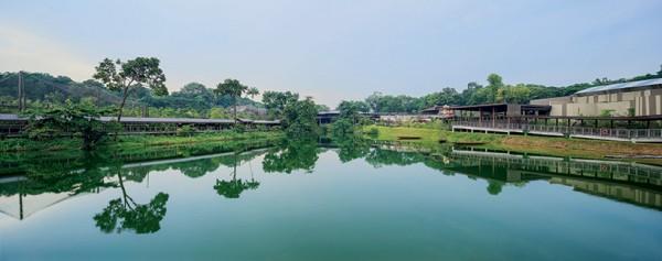Речной парк в Сингапуре