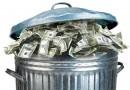 Рост отходов после праздников в США, свидетельствует о здоровой экономике