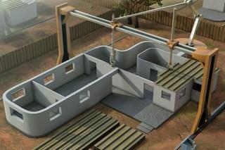 3D-принтер американских инженеров «напечатает» дом за 24 часа