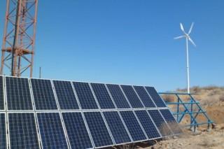 Отдаленные села Казахстана электрифицируют за счет ветроэнергетических комплексов