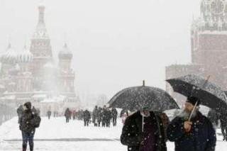 Зима вернулась в Центральную Россию