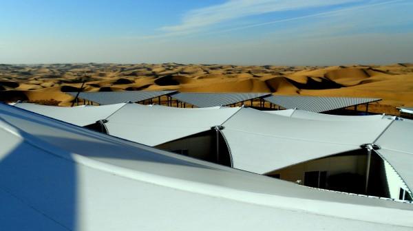Уникальный отель в пустыне Гоби