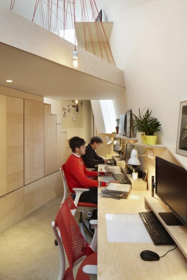 """""""Зеленый"""" офис в Лондоне"""