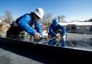В Могилевской области Белоруссии начался монтаж новой солнечной электростанции