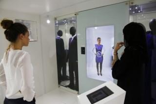В бутике The Galleria в Абу-Даби появилось виртуальное зеркало