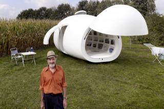 Blob VB3: мобильный дом с органическим дизайном