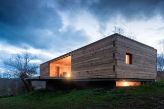 Деревянный домик в провинциальной Испании
