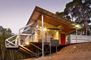 Экологичный дом на австралийском побережье