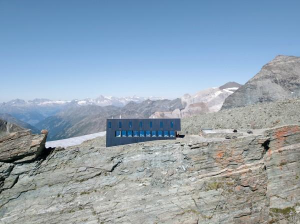 Энергоэффективная гостиница для альпинистов