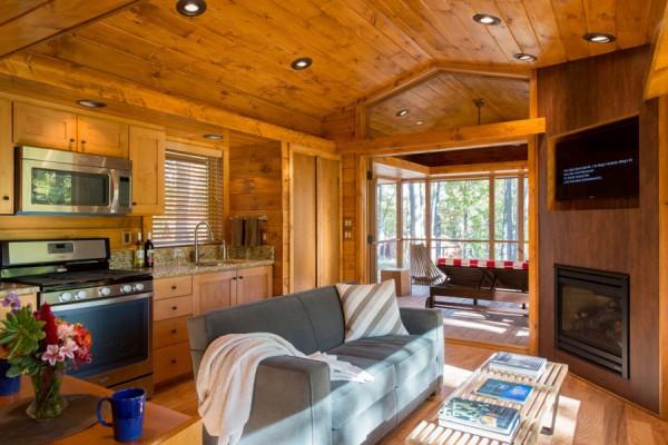 Escape: деревянные коттеджи из Висконсина