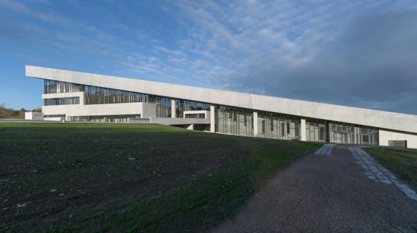 Функциональная крыша для музея