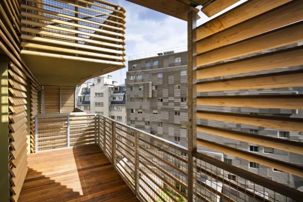 Жилой комплекс в Париже