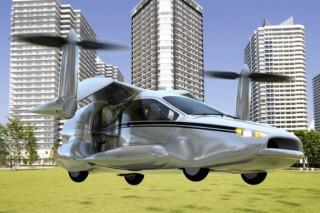 Летающий автомобиль от Terrafugia станет электрическим гибридом