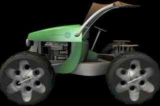 Трактор GE Multipurpose Farming Vehicle: все для аграриев и мини-электростанция