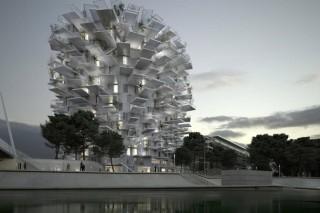 Во Франции построят здание-дерево