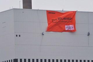 Greenpeace «отправил на пенсию» один из реакторов шведской АЭС Оскарсхамне