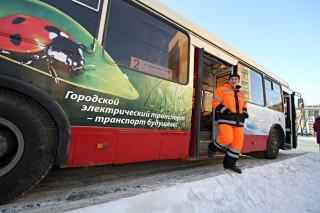 В Челябинске на маршрут вышел троллейбус с возможностью автономного хода