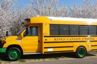 В Калифорнии на маршрут вышел первый школьный электробус