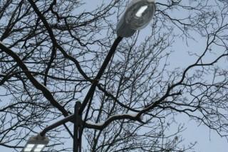 В Ростове начали установку светодиодного уличного освещения