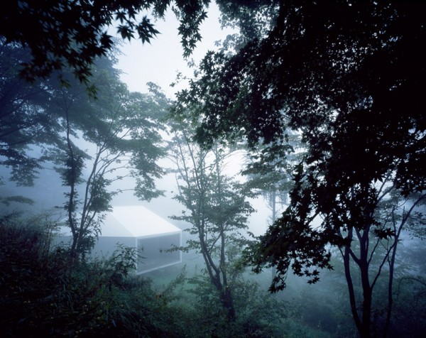 Арт-галерея в лесу близ Токио