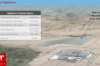 Показаны первые детали будущей фабрики аккумуляторных батарей Tesla