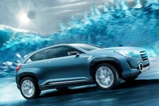 Новый концепт от Subaru получил третий электромотор