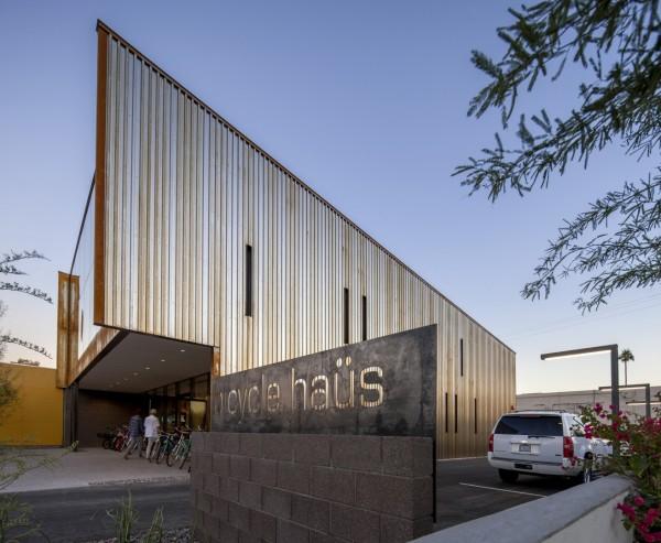 Экологичный веломагазин в Аризоне
