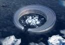 Арктический лед станет пищей для плавучего арктического города