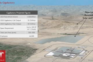 Tesla Motors готовится к строительству масштабного производства аккумуляторов