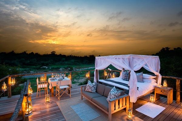 Трихаусы на африканском эко-курорте