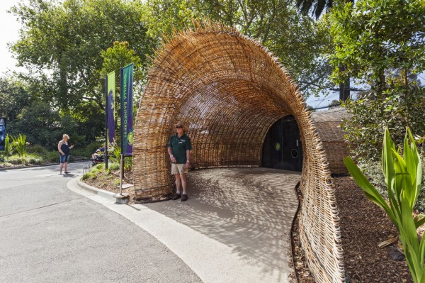Вольер с лемурами в мельбурнском зоопарке