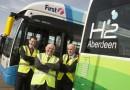 В шотландском Абердине переходят на водородный общественный транспорт